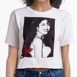 BRAND NEW! Selena Quintanilla Crop Top
